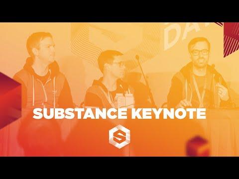 Substance Day at GDC 2019 Keynote