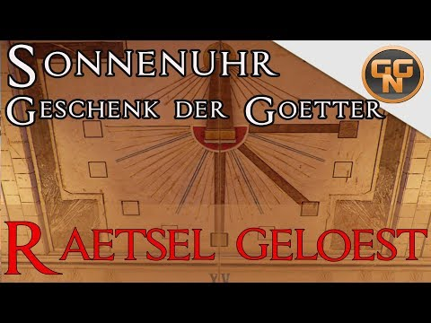 Assassins Creed Origins Sonnenuhr Rätsel Gelöst  Final tasy Quest