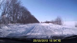 Дорога Тернопіль - Бережани