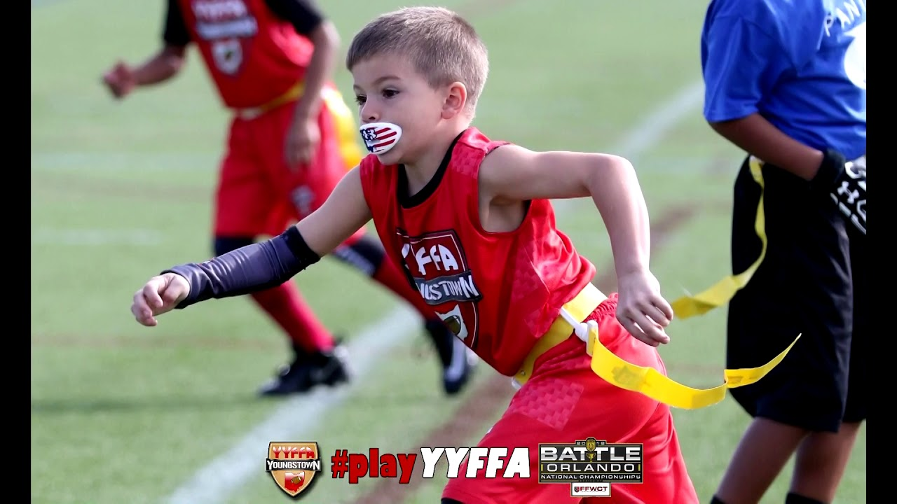 YYFFA 6U Battle Orlando - Flag Football Pool Play Saturday