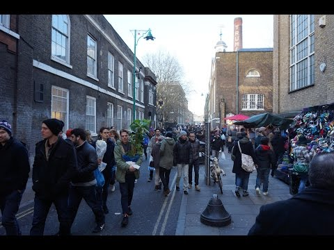 Luxury Fred in London VLOG 1 - Spitalfields & Brick Lane markets