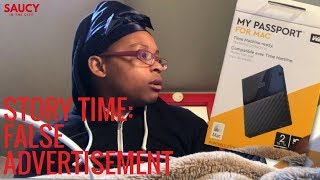 Story Time: False Advertisement at Best Buy | My Passport WD 2TB HardDrive