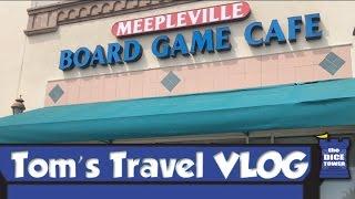 Tom's Travel Vlog - Meepleville Board Game Cafe In Las Vegas