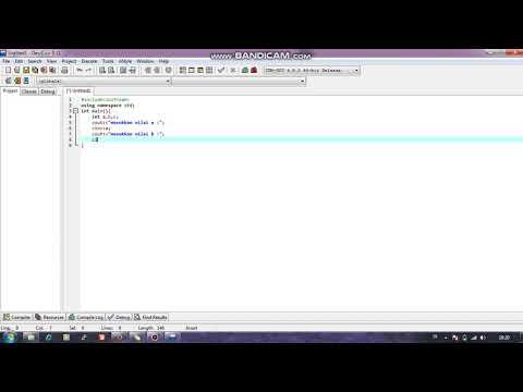 Cara Menggunakan Dev C++ Pdf