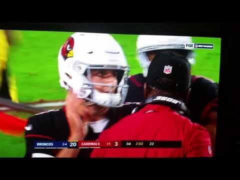 Chris Harris 25 52yd Interception Td Broncos Cardinals Youtube