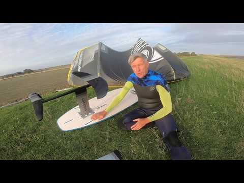 """Cabrinha 2019 """"HI:Rise Lift & X:Breed"""" - My First """"Foil Session"""" Ever - Super Easy"""