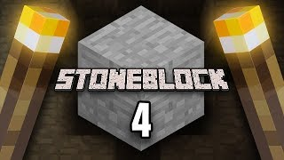 Minecraft: StoneBlock Survival Ep. 4 - ALMOST GONE VERY WRONG