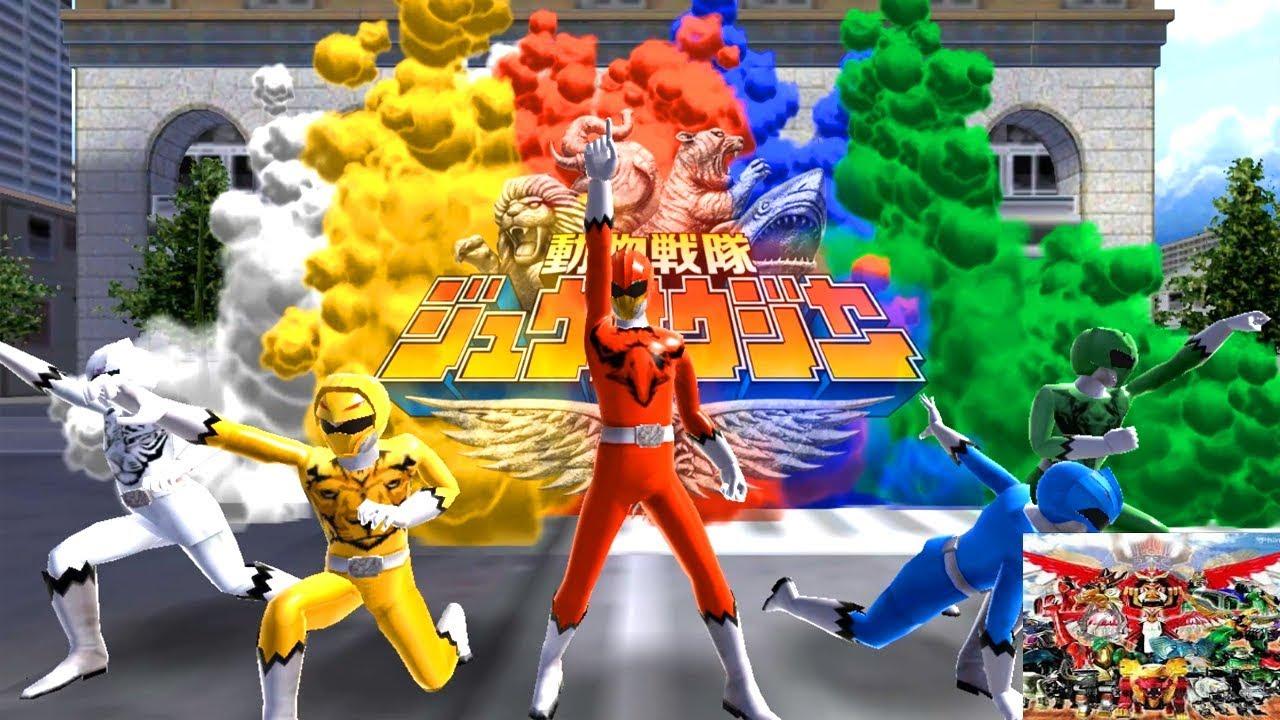 Sieu nhan game play   Game SUPER SENTAI LEGEND WARS – Tổng hợp rất nhiều siêu nhân trong game
