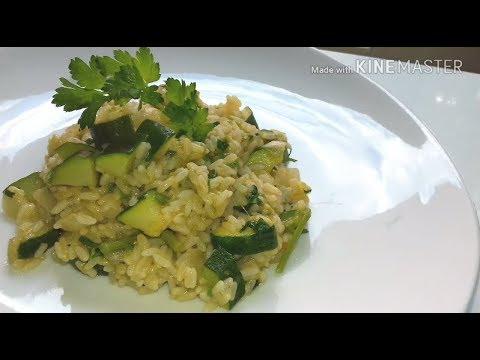 Risotto Asparagi Zucchine.Riso Asparagi E Zucchine Youtube