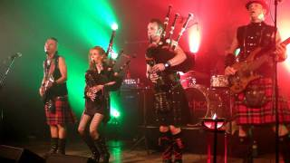 Celtica Pipes Rock Scottish Raggae The Lion sleeps tonight Highland Games Fehraltorf 2011 CH