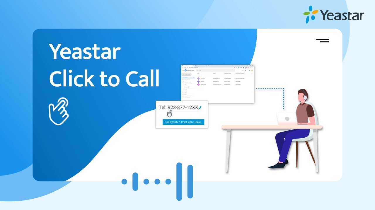 Click to Call - Yeastar Makes Connection Easier & Faster (New Feature 2019)