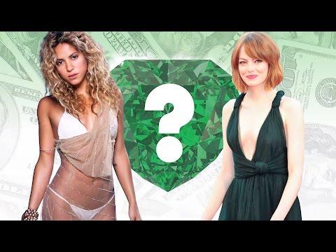 WHO'S RICHER? - Shakira or Emma Stone? -...