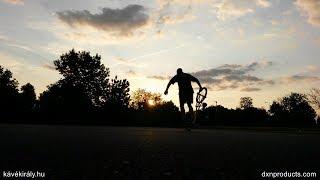 My BMX Flatland riding with yet unfinished trick links