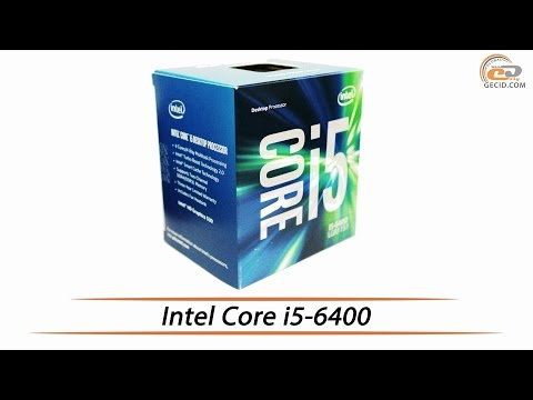 Intel Core i5-6400 - видеообзор процессора линейки Intel Skylake