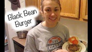 Easy Homemade: Black Bean Burger