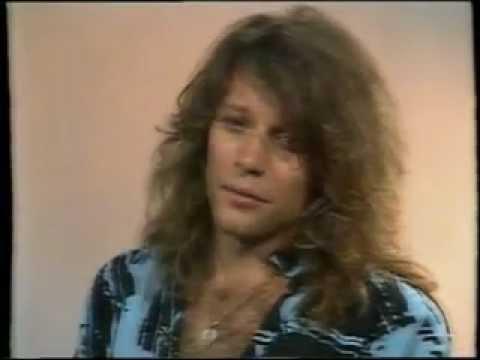Jon Bon Jovi MTV interview 1988