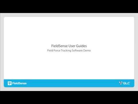FieldSense User Guides   Field Force Tracking Software Demo