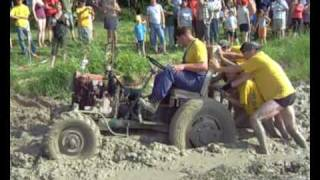 Traktor trial Šalmanovice 2008 video 2. část