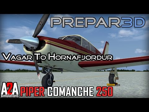 Prepar3D v3 - Around The World - 7: Vagar (EKVG) To Hornafjordur (BIHN)