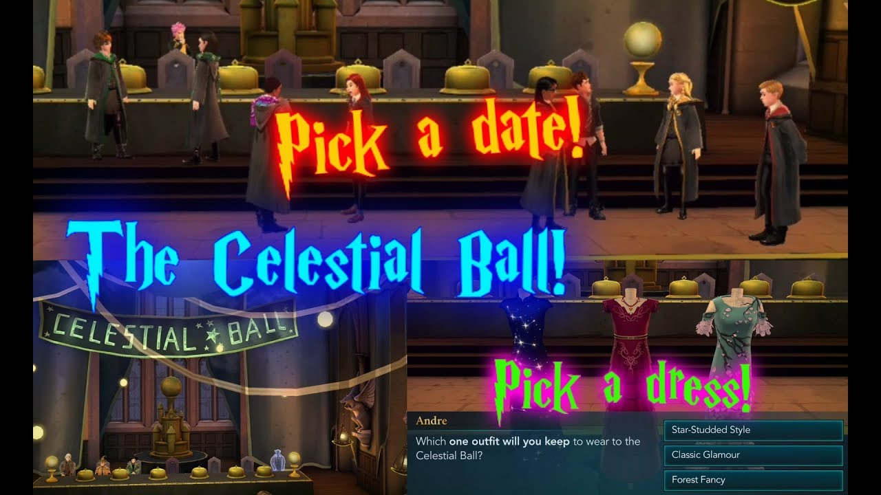 Date Outfit Outfit Date The Celestial Ball Harry Potter Hogwarts Mystery Tlsq Youtube