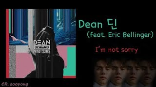 Chn Eng Dean I 39 M Not Sorry Feat Eric Bellinger