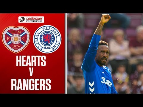 Hearts 1-3 Rangers | Defoe Scores to Delay Title Celebrations | Ladbrokes Premiership