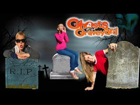 Ghost in the Graveyard Game! | 24 Hours in a Graveyard Hide and Seek! |
