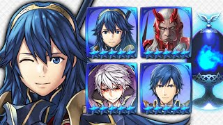Finessing the Formas! - Brave Lucina, Walhart, Male Grima & Exalt Chrom Forma Guide [FEH]