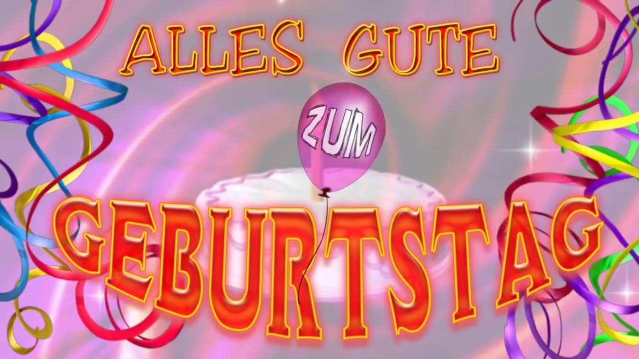 Herzlichen GlГјckwunsch Zum Geburtstag Animiert