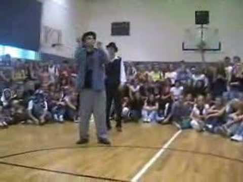 Ramon popping dance