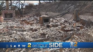 Woolsey Fire Victims Claim Being Billed For Services Not Rendered