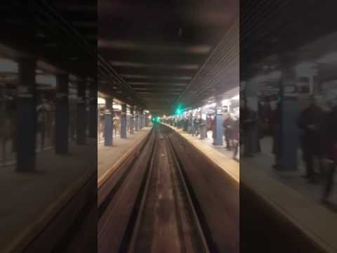 R32 A train from west 4th to dyckman street