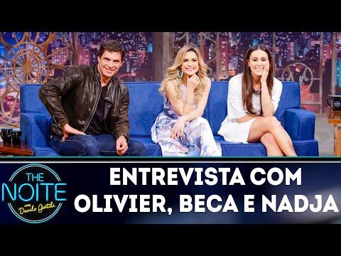 Entrevista com Beca Milano, Nadja Haddad e Olivier Anquier | The Noite (09/08/18)