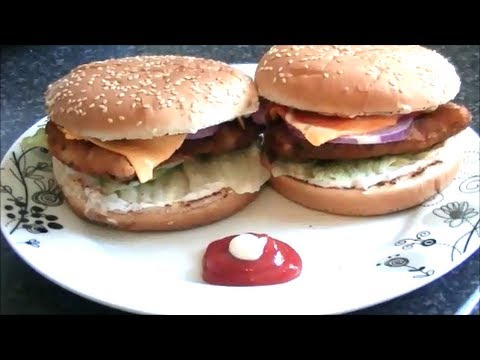 FISH BURGER *COOK WITH FAIZA*