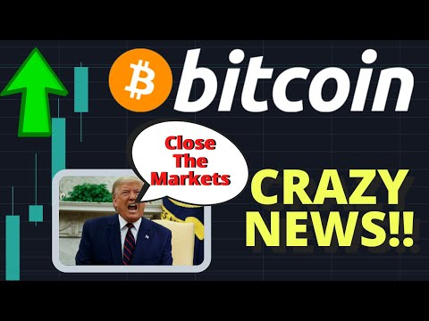 CRAZY!! THE BITCOIN PRICE COULD EXPLODE IF TRUMP DOES THIS!!! STOCKS WILL CRASH!!