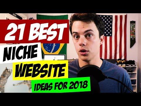 Top 21 Niche Website Ideas for 2018