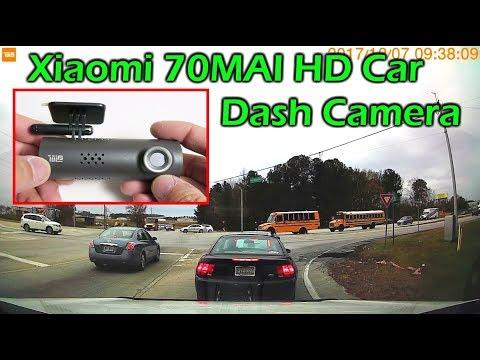 $36 Xiaomi 70MAI HD WiFi Car Dash Camera Review