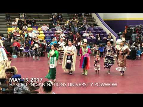 Haskell Indian Nations University Powwow 2017 1