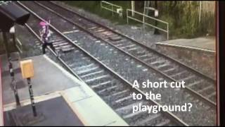 Stay off the tracks - don