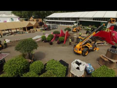 RHS Chelsea Flower Show 2017  Time lapse footage Silk Road Garden, Chengdu, China