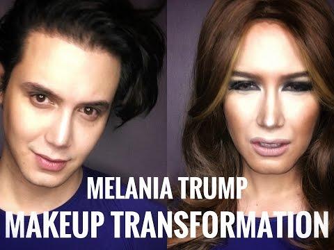 Melania trump makeup
