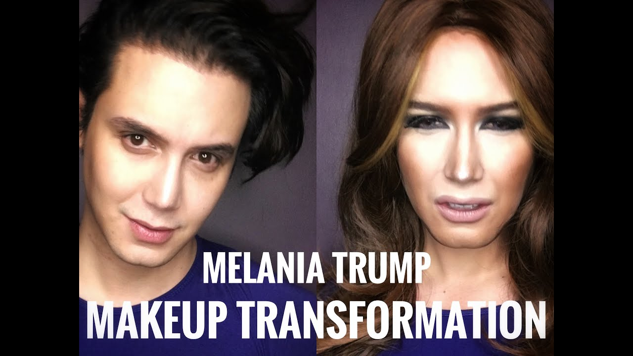 MELANIA TRUMP Makeup Transformation by Paolo Ballesteros ...