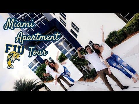 COLLEGE PENTHOUSE DORM & APARTMENT TOUR | Miami 2017!!