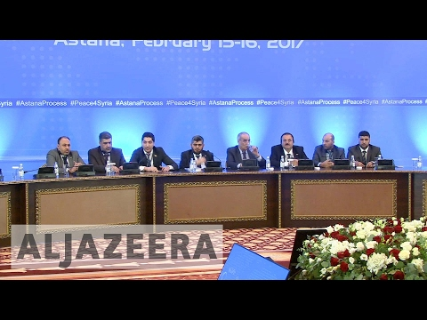 Syria's war: Peace talks take place in Astana
