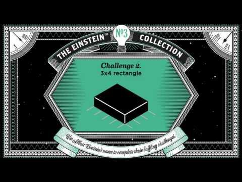 Einstein - Letter Block Puzzle - Challenge 2 Solution