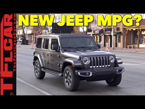 The 2018 Jeep Wrangler Surprises With Real World MPG? TFLinsider # 3
