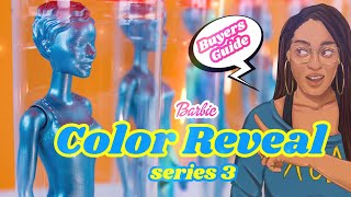 Unbox Daily: ALL NEW Barbie Color Reveal Series 3 | Sunny N' Cool
