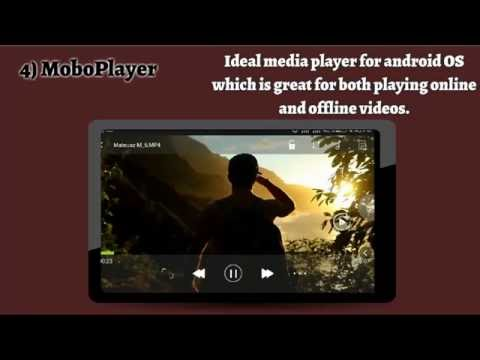 Top Best 5 Android Video Player 2016 =  Best Android Smart Phone Video Player