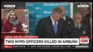 Two NYPD officers ambushed, killed in Brooklyn (December 21, 2014)
