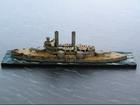 Wargaming the battle of Santiago de Cuba   Part One   Unboxing of ship models